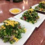 ガス料理教室サラダ蕎麦