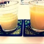 ジュース飲み比べ